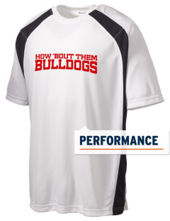 Davis Emerson Middle School Bulldogs Men's Dry Zone Colorblock T-Shirt
