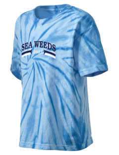 Corona Del Mar Junior High School Sea Weeds Kid's Tie-Dye T-Shirt