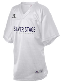 Silver Stage High School Nighthawks Russell Kid's Replica Football Jersey