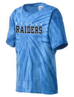 REAGAN HIGH SCHOOL Raiders Kid's Tie-Dye T-Shirt