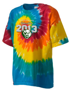 Pajaro Valley High School Grizzlies Kid's Tie-Dye T-Shirt