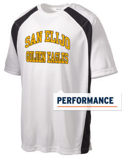 San Elijo Middle School Golden Eagles Men's Dry Zone Colorblock T-Shirt