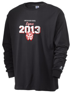 Lincoln High School Lynx  Russell Men's Long Sleeve T-Shirt