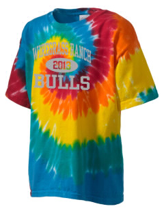 Wiregrass Ranch High School Bulls Kid's Tie-Dye T-Shirt