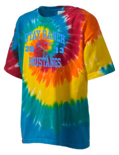Otay Ranch High School Mustangs Kid's Tie-Dye T-Shirt