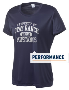 Otay Ranch High School Mustangs Women's Competitor Performance T-Shirt