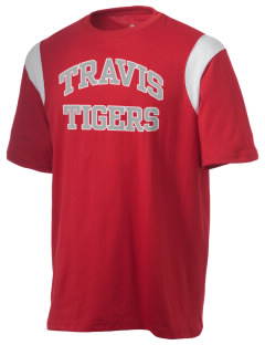 Travis High School Tigers Holloway Men's Rush T-Shirt