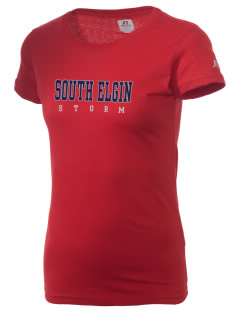 South Elgin High School Storm  Russell Women's Campus T-Shirt