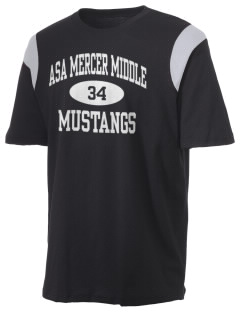 Asa Mercer Middle High Mustangs Holloway Men's Rush T-Shirt