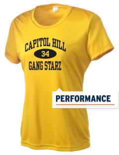 Capitol Hill Gang Starz Women's Competitor Performance T-Shirt