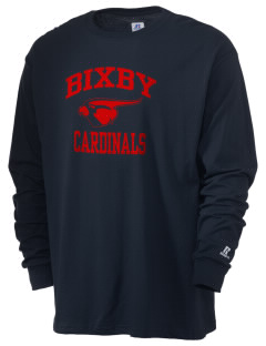 Bixby Cardinals  Russell Men's Long Sleeve T-Shirt