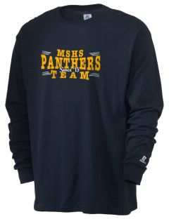 mead senior high school panthers  Russell Men's Long Sleeve T-Shirt