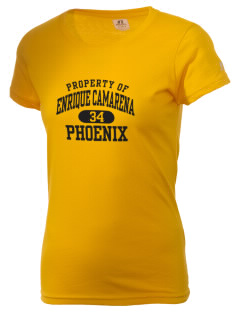 Enrique Camarena Junior High School Phoenix  Russell Women's Campus T-Shirt