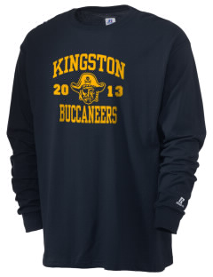 Kingston High School Buccaneers  Russell Men's Long Sleeve T-Shirt