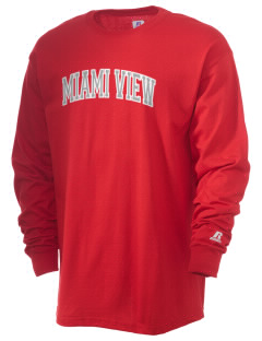 Miami View ElementaryMiddle School (II) Trojans  Russell Men's Long Sleeve T-Shirt