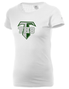 Tuscarora High School Titans  Russell Women's Campus T-Shirt
