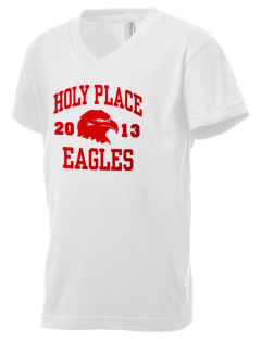 The Holy Place Christian Academy Eagles Kid's V-Neck Jersey T-Shirt