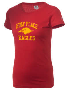 The Holy Place Christian Academy Eagles  Russell Women's Campus T-Shirt