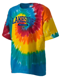 Lakeside Christian Academy FALCONS Kid's Tie-Dye T-Shirt