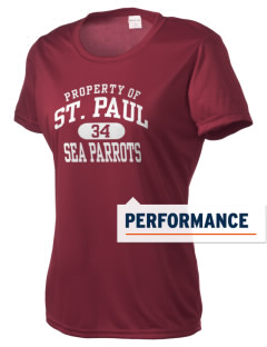 Saint Paul Island School Sea Parrots Women's Competitor Performance T-Shirt
