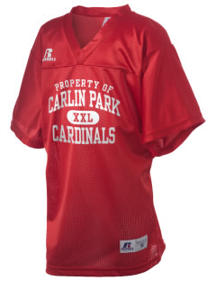 Carlin Park Elementary School Cardinals Russell Kid's Replica Football Jersey