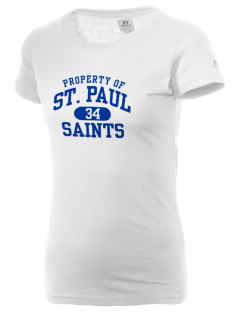 Saint Paul School Saints  Russell Women's Campus T-Shirt