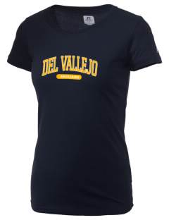 Del Vallejo Middle School Jaguars  Russell Women's Campus T-Shirt