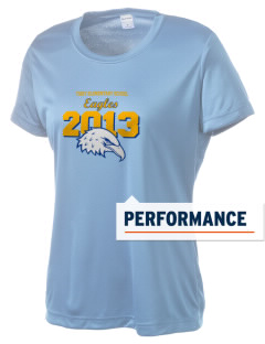 Tibby Elementary School Eagles Women's Competitor Performance T-Shirt
