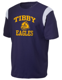 Tibby Elementary School Eagles Holloway Men's Rush T-Shirt
