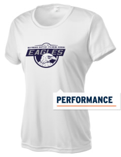 Maywood Baptist Pilgrim School Eagles Women's Competitor Performance T-Shirt