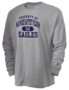 Maywood Baptist Pilgrim School Eagles  Russell Men's Long Sleeve T-Shirt