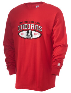 Daniel Webster High School Indians  Russell Men's Long Sleeve T-Shirt