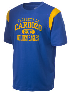 Cardozo Middle School Golden Eagles Holloway Men's Rush T-Shirt