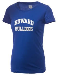 Howard Elementary School Bulldogs  Russell Women's Campus T-Shirt