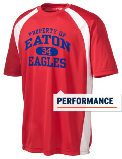 Eaton Elementary School Eagles Men's Dry Zone Colorblock T-Shirt