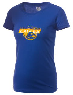 Manteca Christian School Eagles  Russell Women's Campus T-Shirt