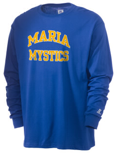 Maria High School Mystics  Russell Men's Long Sleeve T-Shirt