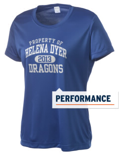 Helena Dyer Elementary School Dragons Women's Competitor Performance T-Shirt