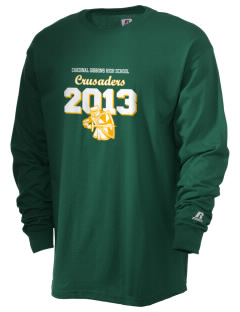 Cardinal Gibbons High School Crusaders  Russell Men's Long Sleeve T-Shirt