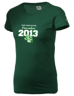 Cardinal Gibbons High School Crusaders  Russell Women's Campus T-Shirt