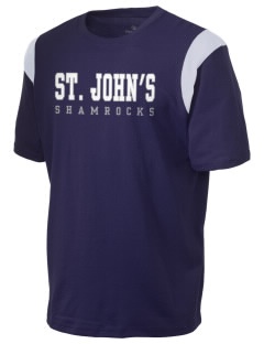 Saint John's School Shamrocks Holloway Men's Rush T-Shirt