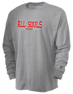 All Souls School Panthers  Russell Men's Long Sleeve T-Shirt