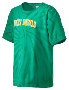 Holy Angels School Angels Kid's Tie-Dye T-Shirt