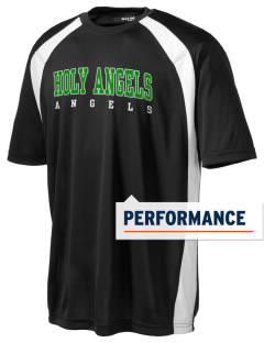 Holy Angels School Angels Men's Dry Zone Colorblock T-Shirt