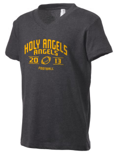 Holy Angels School Angels Kid's V-Neck Jersey T-Shirt