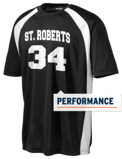 Saint Robert Bellarmine School St. Roberts Men's Dry Zone Colorblock T-Shirt