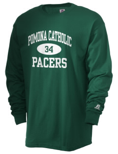 Pomona Catholic High School Pacers  Russell Men's Long Sleeve T-Shirt