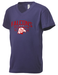 Saint's Felicitas & Perpetual School Falcons Kid's V-Neck Jersey T-Shirt