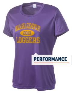 Onalaska Elementary Middle School Loggers Women's Competitor Performance T-Shirt