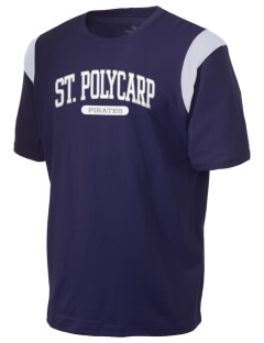 Saint Polycarp Elementary School Pirates Holloway Men's Rush T-Shirt